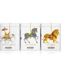 Newby Black Tea Carousel - Assorted Tea Gift (3 mini-caddies)