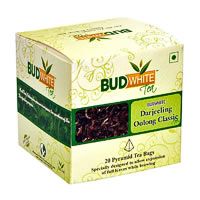 Budwhite Darjeeling Oolong Classic Tea (20 Pyramid tea bags)