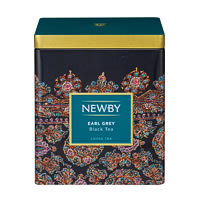 Newby Classic Earl Grey Loose Leaf Black Tea, 125 gm Caddy