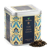 Octavius Pure Darjeeling Green Tea, Loose Leaf 75 gm Premium Caddy