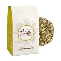 The Indian Chai - Premium Rosemary Green Tea, Loose Whole Leaf 100 gm