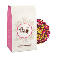 The Indian Chai - Hibiscus Floral Black Tea, Loose Whole Leaf 100 gm