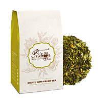 The Indian Chai - Mojito Mint Green Tea, Loose Whole Leaf 100 gm