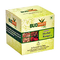 Budwhite Herbal Tea Combo (16 Pyramid tea bags)