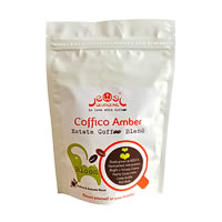 Coffico Amber Bloom Arabica and Robusta Blend Coffee, Whole Beans 250 gm