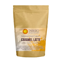 Tariero Caramel Latte Flavoured Gourmet Coffee, Fine Grind 100 gm