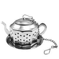Budwhite Stainless Steel Kettle Shaped Tea Infuser (Big)