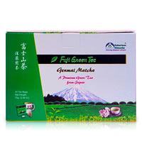 Robertson Shizuoka Japanese Genmai Matcha Fuji Green Tea, Nutty (30 ...