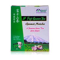 Robertson Shizuoka Japanese Genmai Matcha Fuji Green Tea, Nutty (10 ...