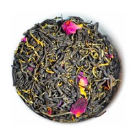 The Tea Shelf Organic Rose Black Tea, Loose Leaf 100 gm