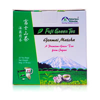 Robertson Shizuoka Japanese Genmai Matcha Fuji Green Tea, Nutty (20 ...