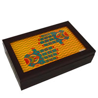 Twirly Tales Ethnic Hands Series Tea Bag Organiser