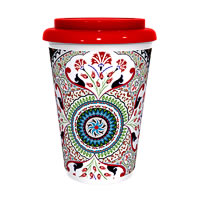 Kolorobia Stylish Turkish Red Cafe Mug