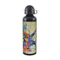 Kolorobia Peacock Cream Black Travel Sipper