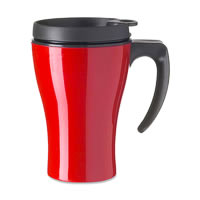 Rosti Mepal Thermo Mug Automatic (Luna Red)