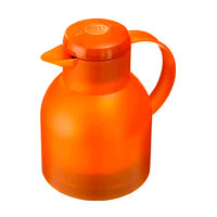 Emsa Samba Vacuum Jug (Translucent Orange)