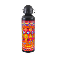 Kolorobia Ikat Black Travel Sipper