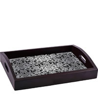 ThinNFat Doodle Art Printed Tray