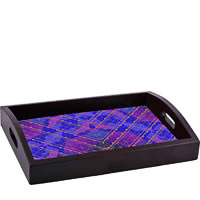 ThinNFat Indian Pattern Printed Tray