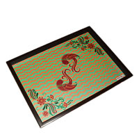 Twirly Tales Dancing Birds Series Rectangular Tray