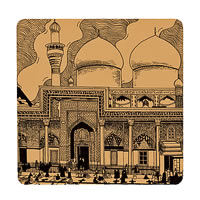 Posterboy Charbak Mecca Mosque Coasters - set of 4
