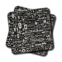 Amey Car Brands Coasters - set of 2