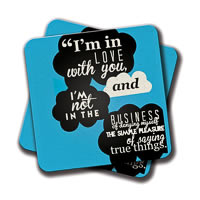 Amey Love Blessings Coasters - set of 2