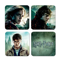 Warner Brothers Harry Potter Characters I Coasters - set of 4