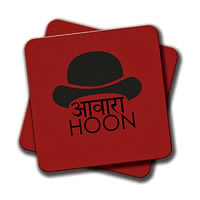 Amey Awaara Topi Coasters - set of 2
