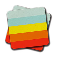 Amey Colorscape Coasters - set of 2