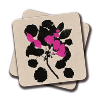 Amey Cherry Blossom Coasters - set of 2