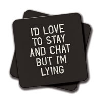 Amey Chat Coasters - set of 2