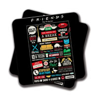 Amey Friends Coasters - set of 2