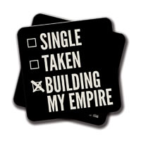 Amey Single Taken Building My Empire Coasters - set of 2
