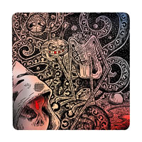 Posterboy Charbak Ghosts of Aliens Coasters - set of 4