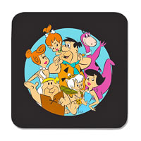 Warner Brothers The Flintstones Together Coasters - set of 4
