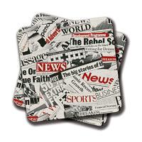 Amey News Branded Coasters - set of 2