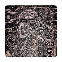 Posterboy Charbak Alien Mahakavi Kalidasa Coasters - set of 4