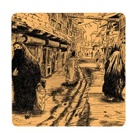 Posterboy Charbak Baghdad Street Coasters - set of 4