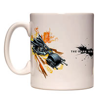 Warner Brothers Batpod Vehicle Mug