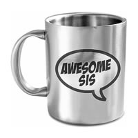 Hot Muggs Awesome Sis Mug