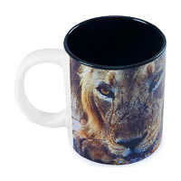 Hot Muggs Wild Focus - I'm the King Mug