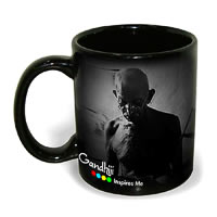 Hot Muggs Mahatma Gandhi - More to Life, Mug