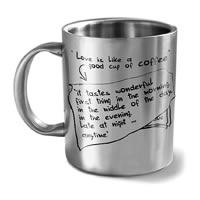 Hot Muggs Love is like a Good Cup of Coffee Mug