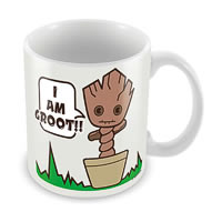 Marvel I Am Groot - Kawaii Ceramic Mug