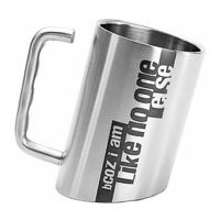 Hot Muggs Inclined - bCOZ i am Like no one else, Mug