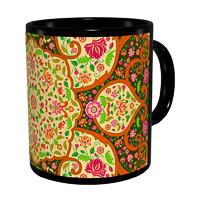Kolorobia Mughal Dark Classic Black Mug