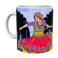 Kolorobia Vivid Garba Classic White Mug