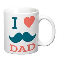Prithish I Love Dad (Mooch) Double Color Mug - WindMyWings com