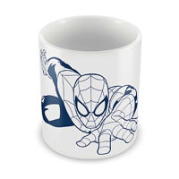 Marvel Spider-Man Web Action Ceramic Mug